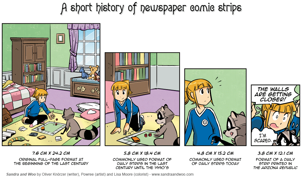 [0219] A Short History Of Newspaper Comic Strips